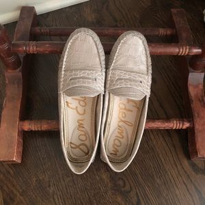 Sam Edelman Size 7.5 Leather Loafers